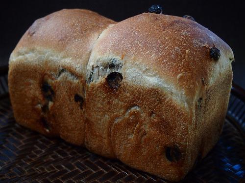 レーズン食パン1