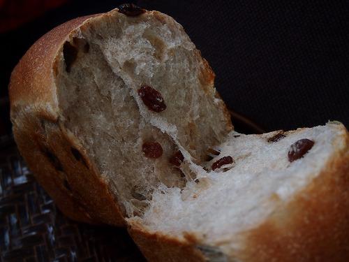 レーズン食パン4