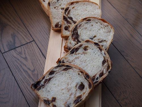 シナモンレーズン食パン4