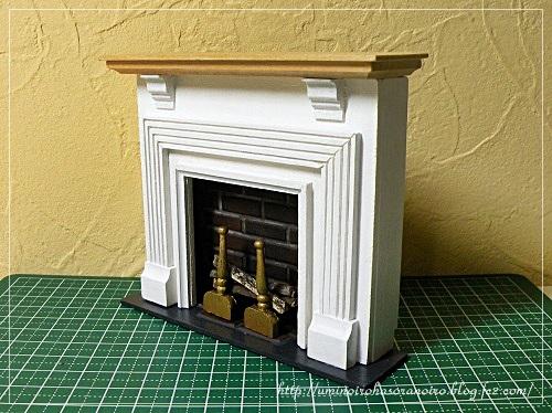 マイ・ドールズ・ハウス~暖炉の製作過程 3・4