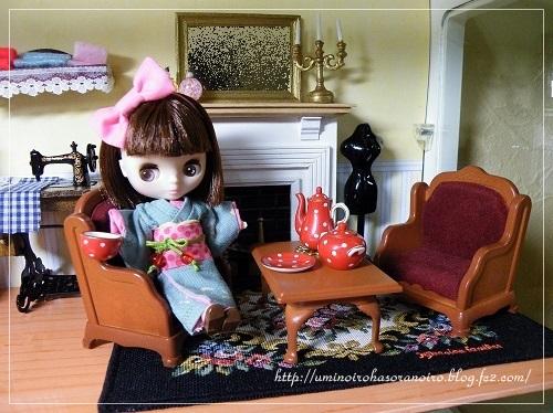 すずめの詩 午後の桜茶