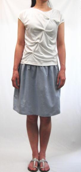 ヨークギャザースカート