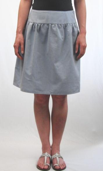 ヨークギャザースカート2