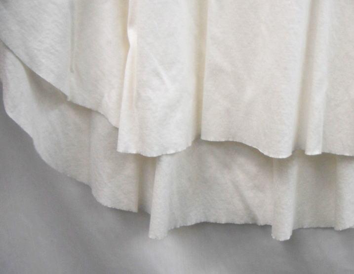 ドルマンウオッシュ裾