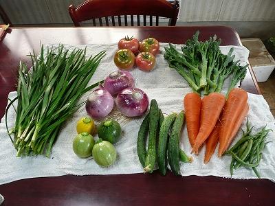 特製野菜BOXの中身