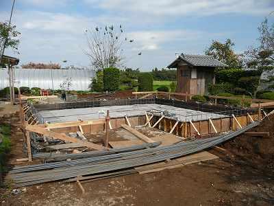 家の輪郭に枠を作る