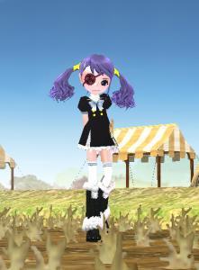 髪、紫ってアニメかお婆ちゃんかだよね