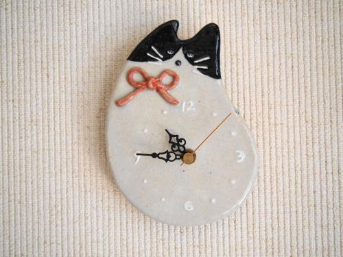 ネコ時計(2)