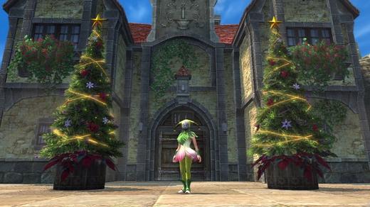 クリスマスツリーやっほい1
