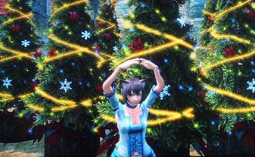 クリスマスツリーやっほい3
