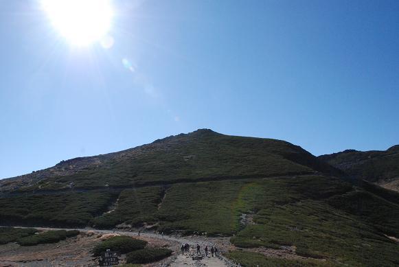 今日は山の写真ばっかりです。