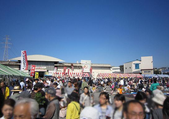 市場のお祭り