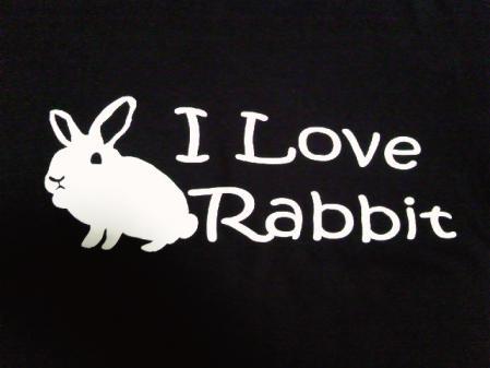 I-Love-Rabbit (ブラック)