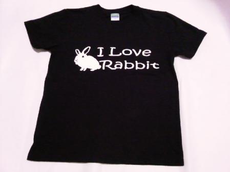 I-Love-Rabbit ブラック前-