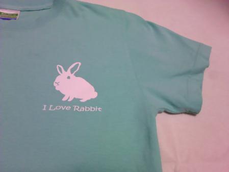 I-Love-Rabbit-ミントグリーン前ロゴ