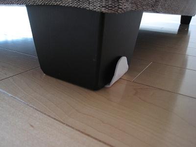 ソファの足