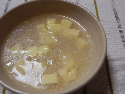 卵豆腐のスープ_1