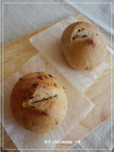 ドライトマトとレーズンのパン_3
