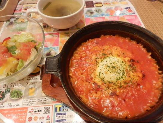 トマトのリゾット