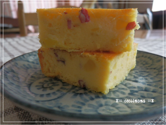 さつまいものチーズケーキ_1