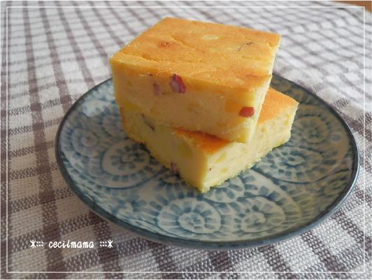 さつまいものチーズケーキ_2