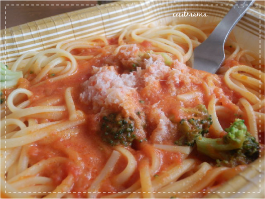 蟹のトマトソース_1