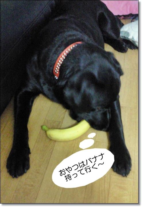 バナナ持って行く!