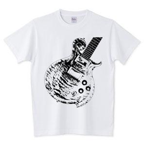 ねこギターTシャツ-5