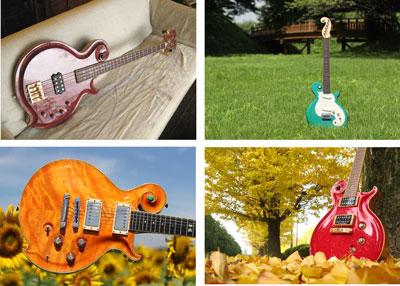 ギターカレンダー写真撮影