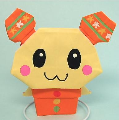 折り紙の キャラクターの折り紙の作り方 : vongi.blog72.fc2.com