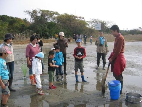 干潟の生物観察_R