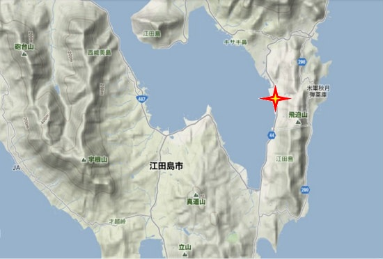 2)江田島町南部・江田島図書館
