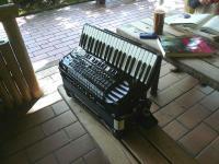 鏡山公園でアコの練習20120925-2