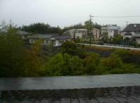 午後になっても雨が降っています