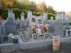 墓参り20121125-2