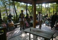 鏡山公園~東屋20121028-2