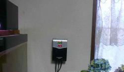水槽のヒーターフル稼働20121204
