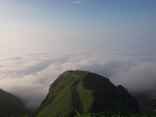 ラピュタの道と雲海①