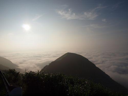 ラピュタの道と雲海②