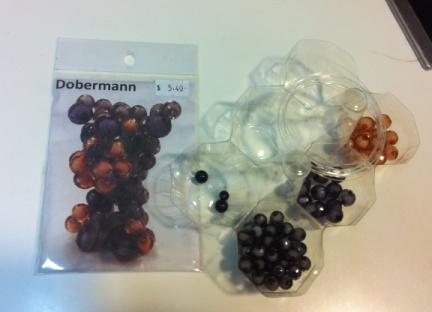 beads dobermann1
