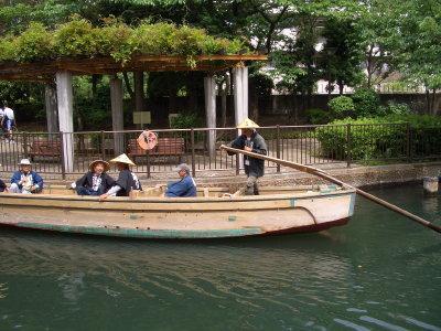 「近江八幡和船観光組合」さまご来訪