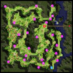 パワースポット/タコ足マップ
