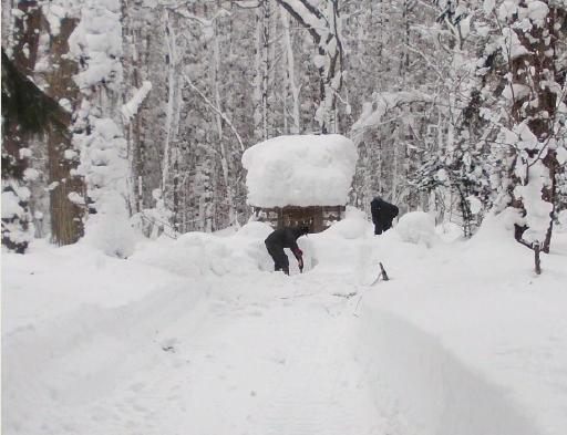 20121230_祠の周りを除雪