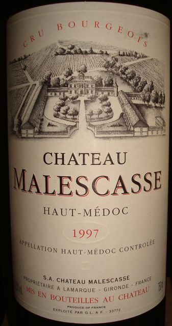 Chateau Malescasse 1997
