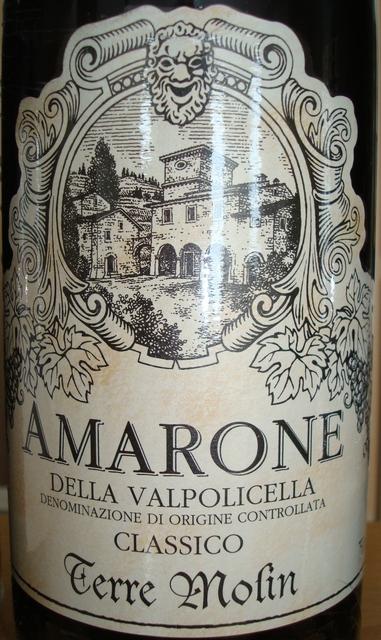 Amarone Della Valpocicella Classico Terre Molin 2008