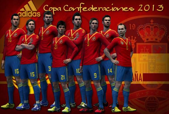 スペイン代表コンフェデ2013