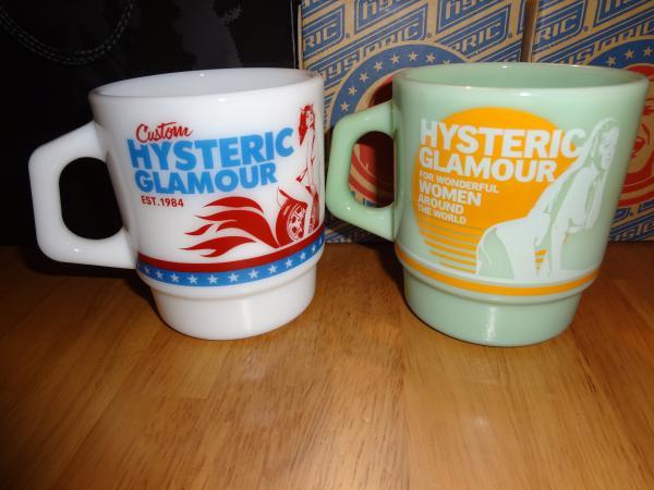 HYSTERC GLAMOUR × Fire-king 2012summer マグカップ 1