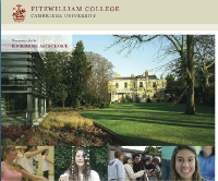 Fitzwilliam college Cambridge bucksmore isis