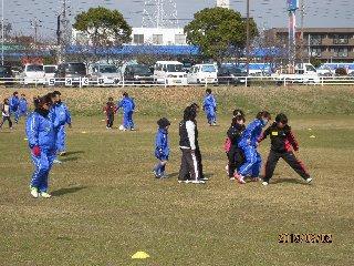 最終回 半田市青山武道館前 芝グラウンド ゲーム実施