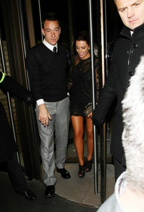 John Terry  Toni Terry Dines At Novikov 01
